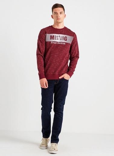 Mustang Sweatshirt Bordo